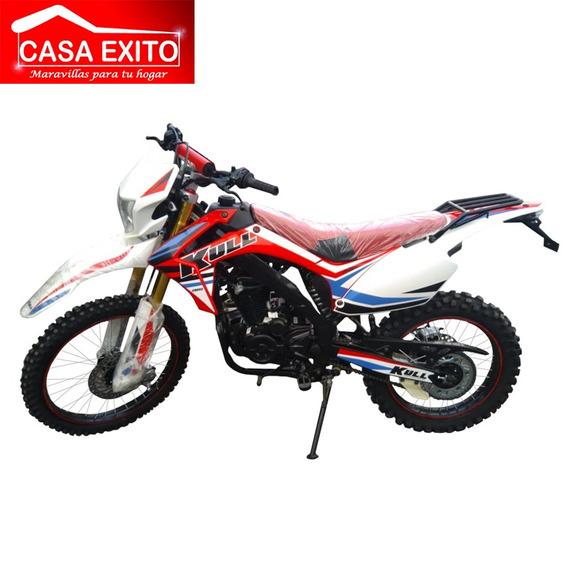 Moto Kull Cross 250 Año 2019 250cc Rojo