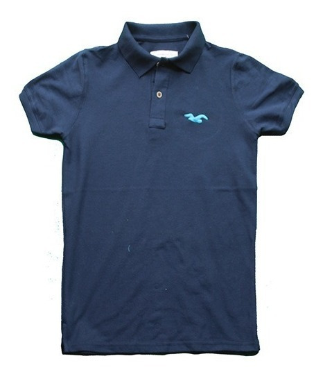 Lote 5 Playeras Tipo Polo Aeropostale Hollister American