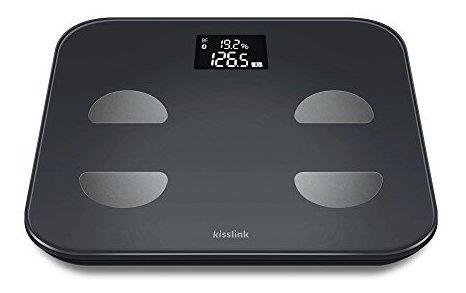 Kisslink Smart Body Scale Monitor De Composición Corporal C