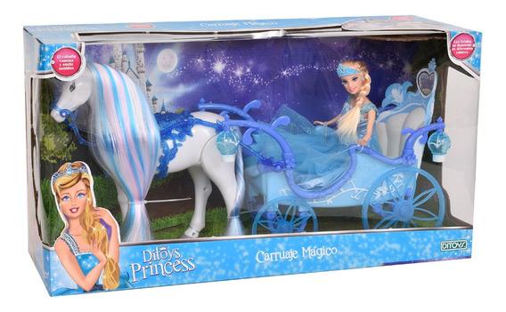 Princesas Carruaje Mágico Ditoys