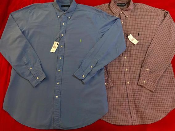Lote 2 Camisas Polo Ralph Lauren Originales Talla Xl Nuevas