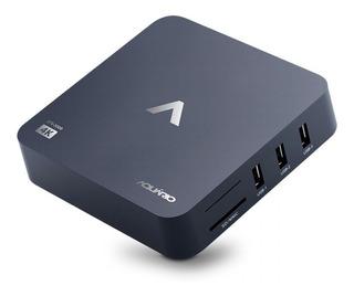 Smart Tv Box Aquário Stv-2000 - 4k Android 7.1 Nougat