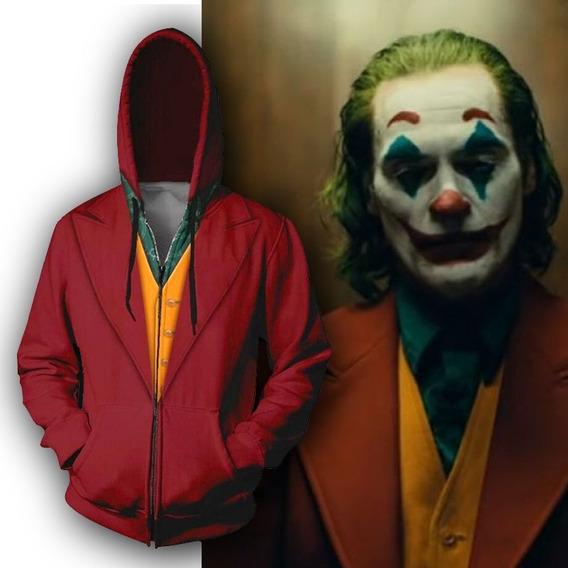 Disfraz Joker Guasón Sudadera Hoodie Cosplay Unisex 2019 M21