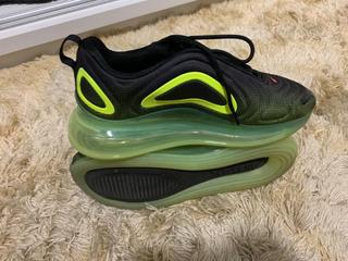 Tenis Nike Air Max Verde Limao Sapatos Tênis com o