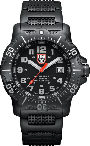 Relogio Luminox Sea Anu Steel Black Diver's 200m  Xs.4222