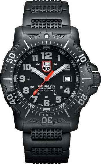 Relogio Luminox Sea Anu Steel Black Diver