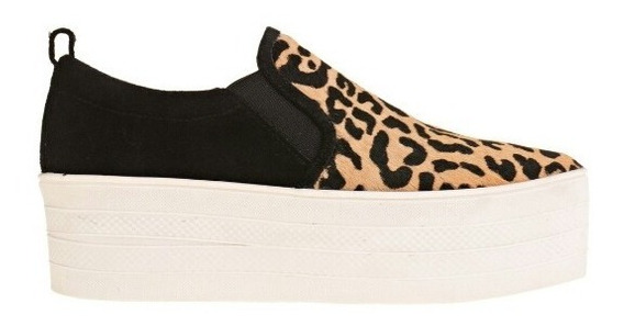 Zapatos Prune Sneaker Cambridge Leopard