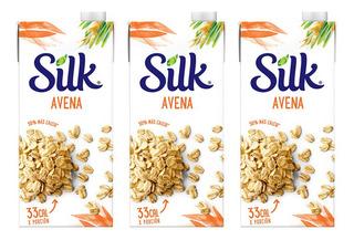 Silk Bebida (leche) De Avena Pack Por 3 Unidades