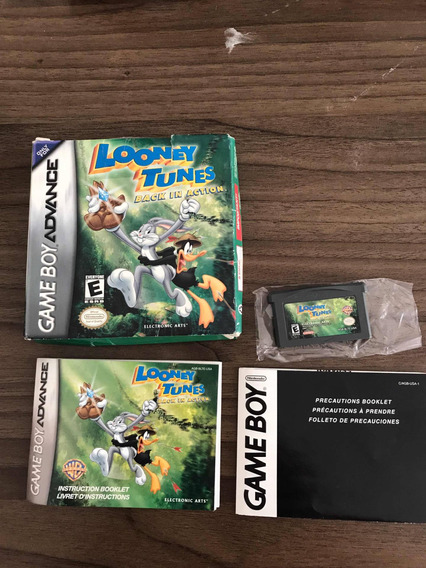 Looney Tunes Game Boy Advanced Na Caixa