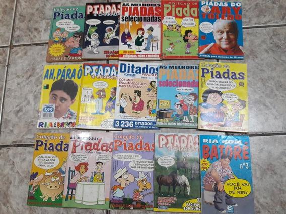 Lote 15 Livros De Piadas