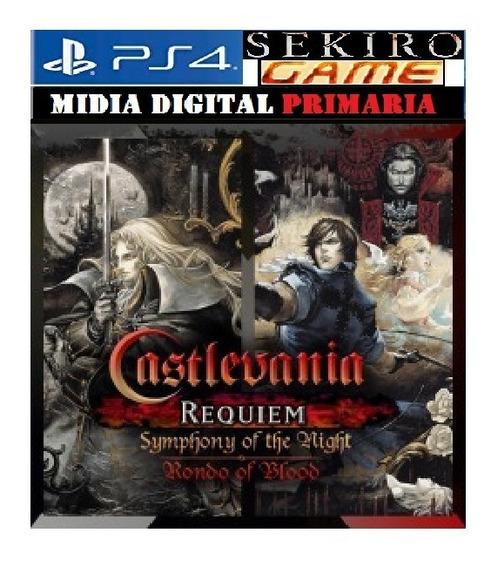 Castlevania Requiem:symphony & Rondo Of Blood Ps4 Original 1
