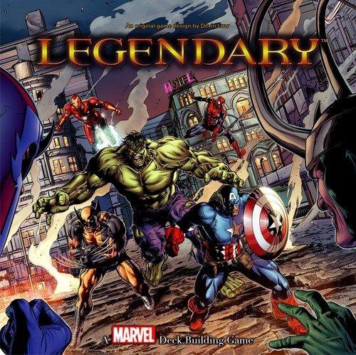 Legendary: A Marvel Deck Building Game (jogo Base)