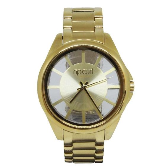 Relógio Rip Curl Focus Sss Gold Feminino