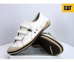 Zapatillas Urbanas Hombre Caterpillar Cuero Premium