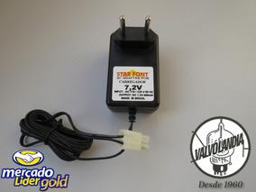 Carregador 7,2v 800mah Para Bateria De Carrinho E Outros