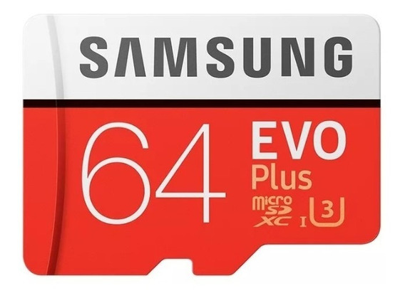 Cartão Samsung Micro Sd Evo Plus 64gb
