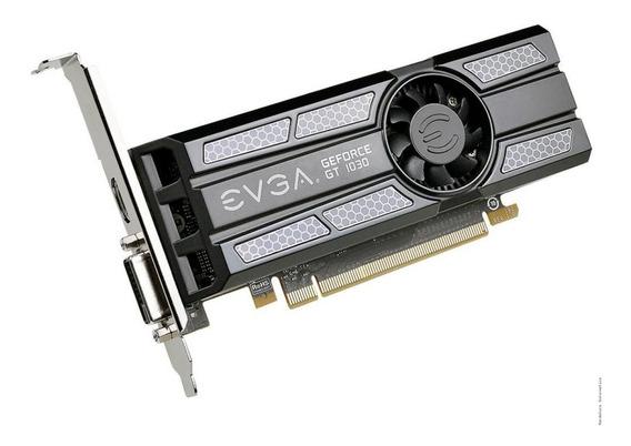Placa De Vídeo Vga Nvidia Evga Geforce Gt 1030 Gddr5
