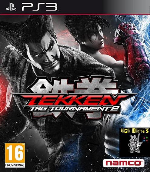 Tekken Tag Tournament 2 Jogos Ps3 Psn Original Receba Hoje