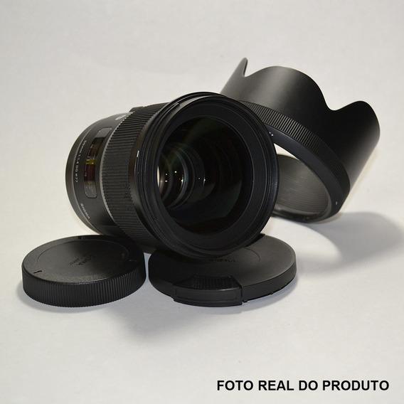 Lente Sigma 50mm F/1.4 Para Canon Revisado