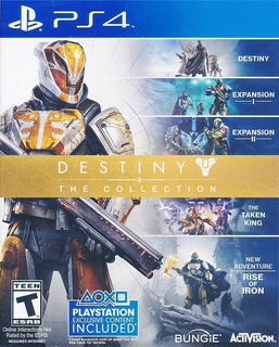 Destiny The Collection Ps4 Nuevo Y Sellado