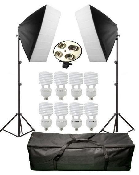 Kit De Iluminação 1080w P/ Youtube E Video Newborn Pk-sb01