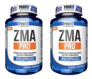 2x Zma (zinco, Magnésio) C/ Picolinato Cromo 90caps Profit