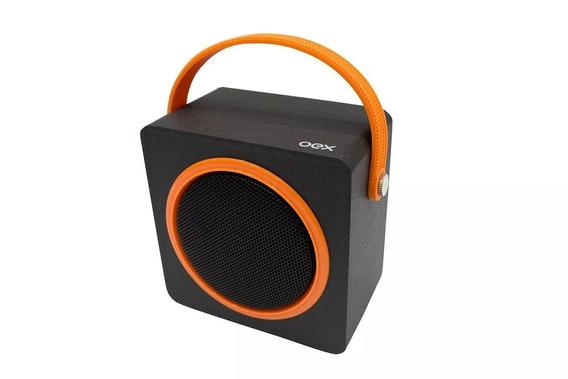 Caixa De Som Speaker Box Sk404 Bluetooth 10w Oex Laranja