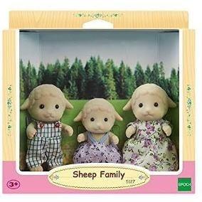 Boneco Brinquedo Família Das Ovelhas