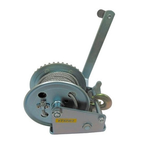 Malacate Winch Manual Galva 1200 Lbs O 540 Kilos Y Cable 10m