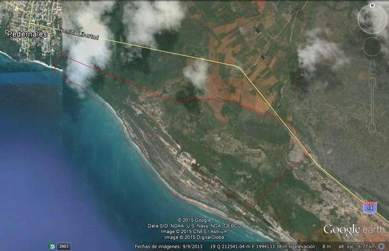 Solar En Pedernales Con 4 Millones De Metros 7 Km De Playa