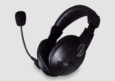 Headset Professional Hs201 Newlink