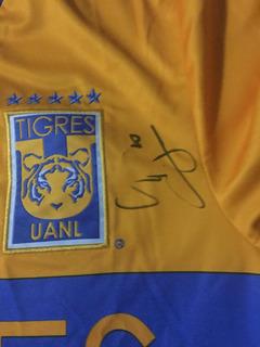 Ambos Jersey Tigres Autografiadas Campeon Local Y Visitante