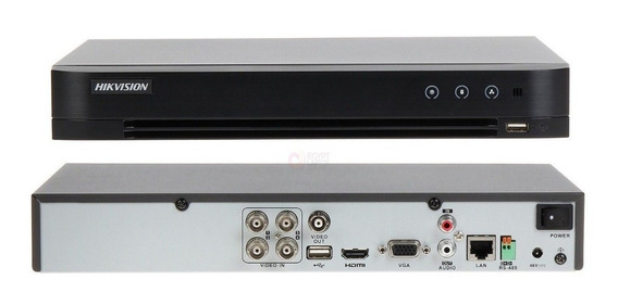 Dvr Stand Alone 4 Canais 3mp Ds-7204hqhi-k1/p + 4 Cameras