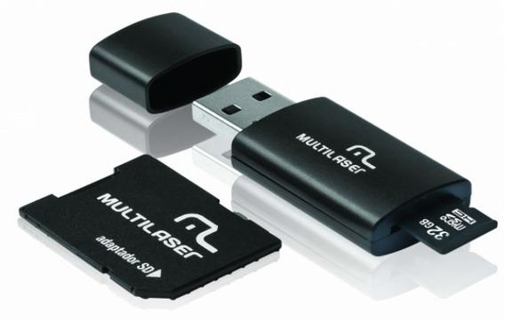 Memoria Sd Micro 64gb Adp+pn Cl10 Multilaser
