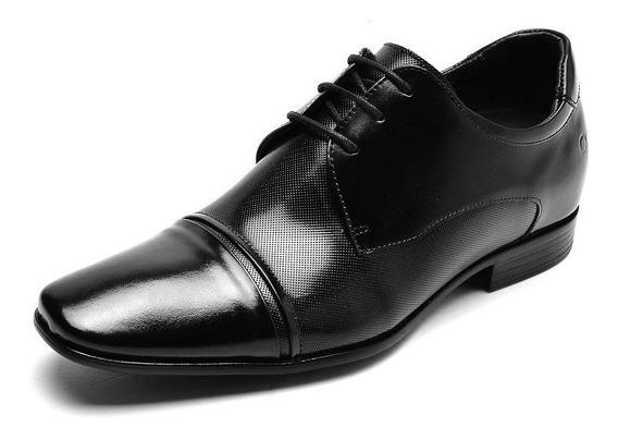 Sapato Masculino Democrata Taller Still 061109 Vc 6cm +alto