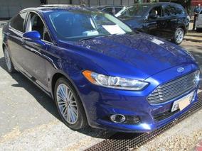 Ford Fusion Titanium 2.0 2014 Azul