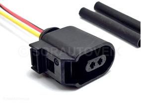 Conector Plug P/ Chicote Sensor Abs Golf Jetta Passat Up