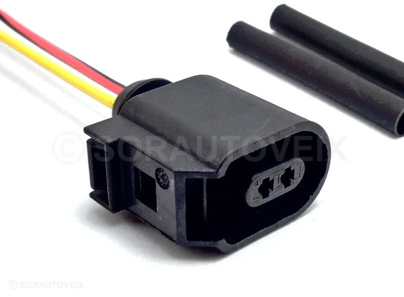 Conector Plug P/ Chicote Sensor Abs Golf Jetta Passat Up