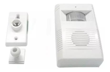 Sensor De Presença Campainha Anunciador Sem Fio Para Loja