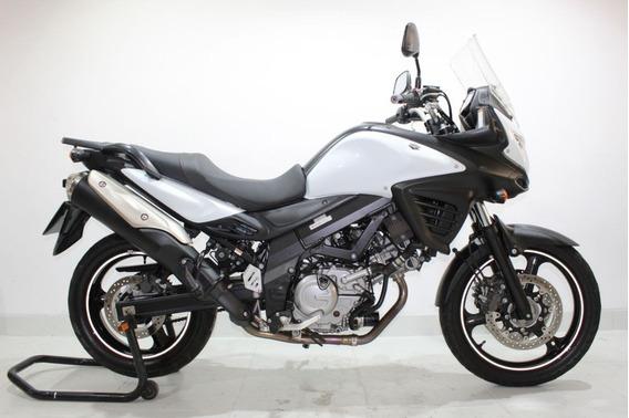 Suzuki V Strom 650 Abs 2016 Branca
