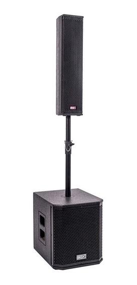 Caixa Ativa Pa Portátil Bluetooth Sistema De Som Torre 600w
