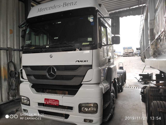 Mb 2544 2014 6x2 Teto Alto Automático. Varias Unidades