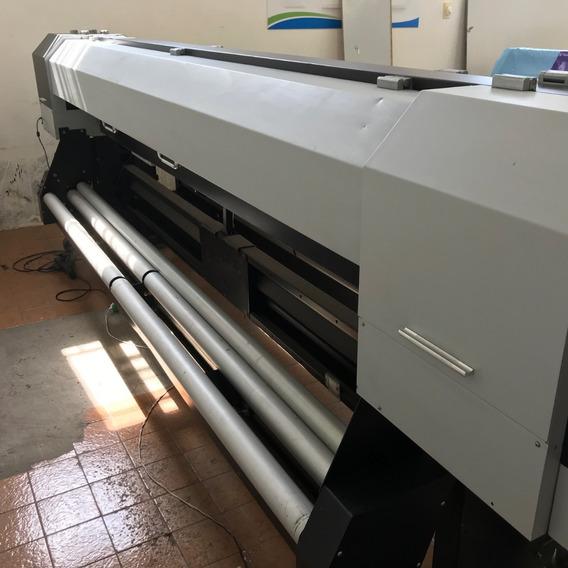 Impressora Digital Solvente 2,5m Airon Konica 14 Picolitros