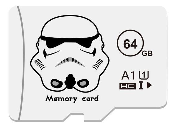 Cartão De Memória Star Wars 64gb + Adaptador Sd Brinde