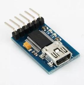 Conversor Usb Serial Ft232rl Ttl Ftdi 5v 3v3 Arduino