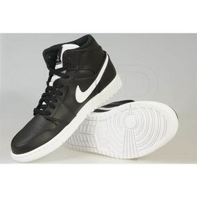 88d11b8d871 Tenis Nike Air Jordan 1 Mid Preto - Tênis no Mercado Livre Brasil