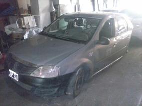 Renault Logan 1.6 8v 2010 Chocado Titular Al Dia P/transf