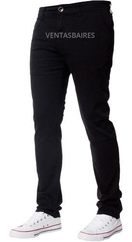 Pantalones Gabardina Corte Chino De Hombre Envíos