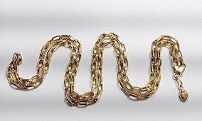 Corrente Cartier Em Ouro 18k 0,750 Com 9,1grs. 62.5cm