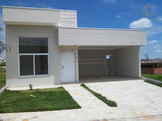 Linda Casa Térrea No Cond. Real Park - C/ 03 Dormitórios, Sendo 01 Suíte - Ca0439 - 4406339
